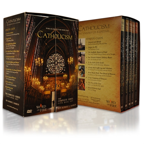 Catholicism: a 10 Part Series DVD / Fr Frobert Barron