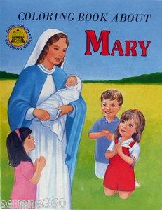 Colouring Book About Mary